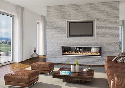 ideas logs fireplace fire artificial