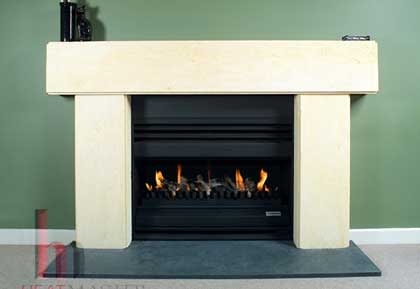 Heatmaster Open Gas Fireplaces