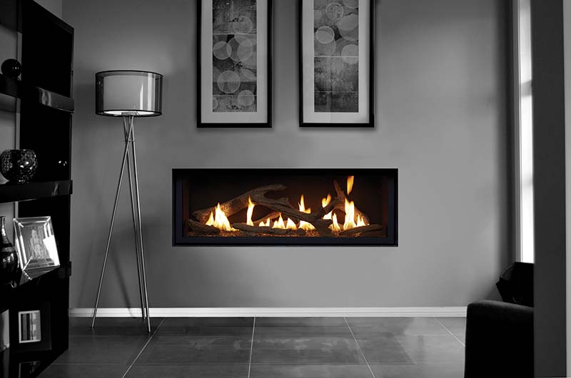 Lopi Gas Log Fire