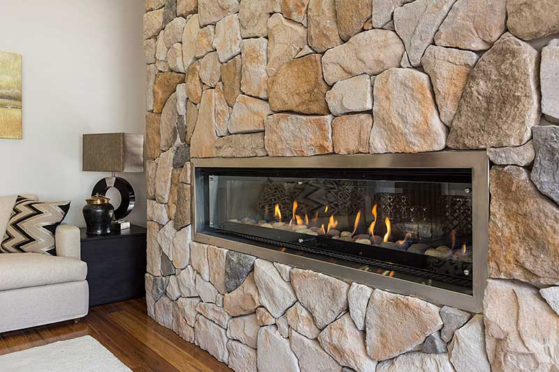 real stone fireplace pricing