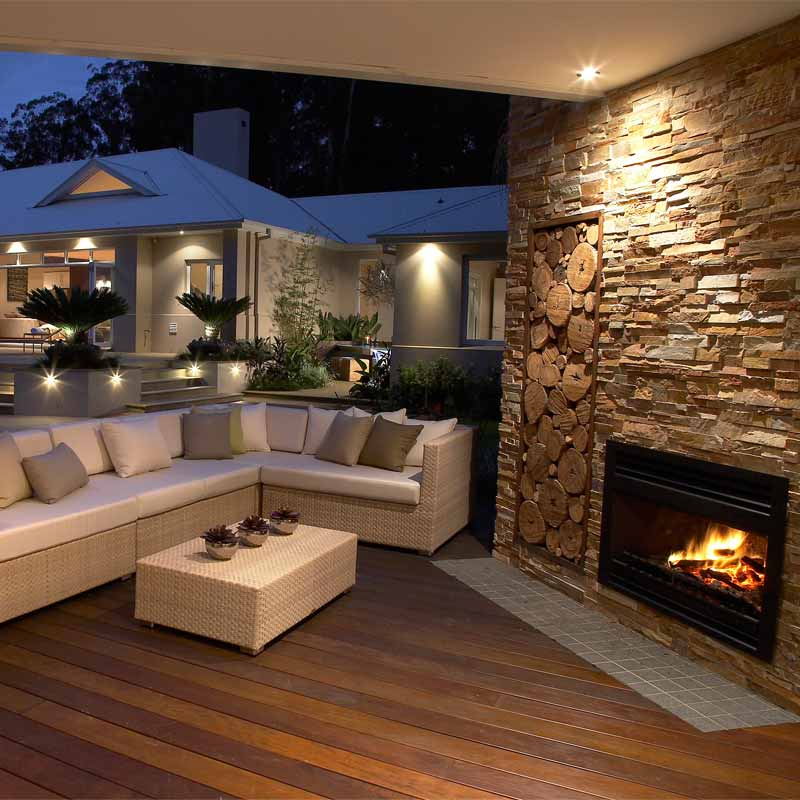 Outdoor Heating | Outdoor Fireplaces | Alfresco Fires | Radiant ...