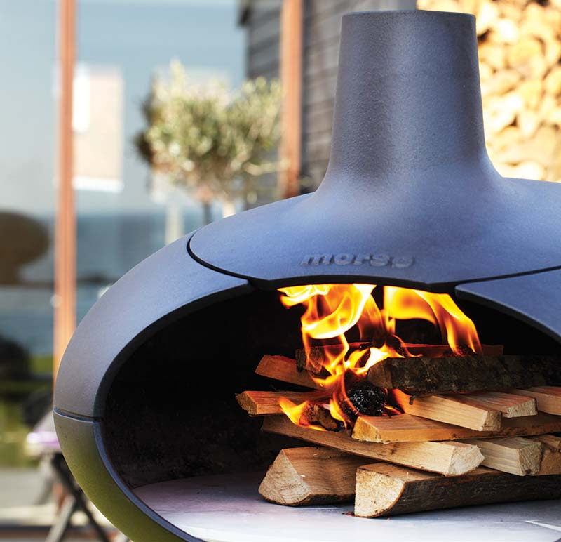 Morso wood fired Living BBQ's and Grill Range