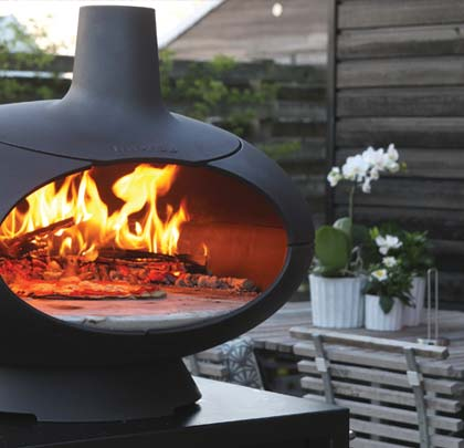 Morso Living wood fired  BBQ's and Grill Range