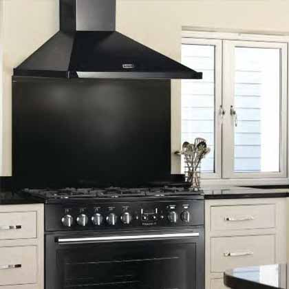 Falcon Range hoods and Splashbacks