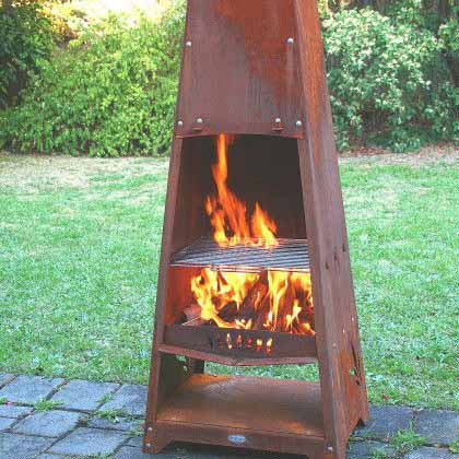 Outdoor Heating Outdoor Fireplaces Alfresco Fires Radiant Heaters